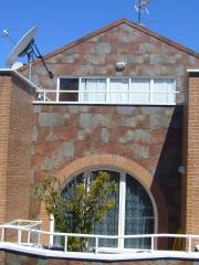 Chapado de plaqueta en fachada