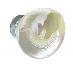 Conchas como tirador para puertas de cristal y cabinas de duchas. tectus pyramis pulido. di�metro 65 mm.