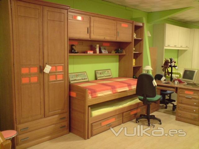 Foto dormitorio juvenil de colores a elegir y Dormitorio juvenil en l