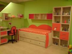 Dormitorios juveniles en  diferentes medidas y colores.