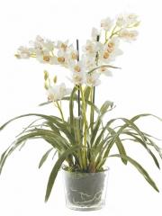 Articoencasa.com - flores artificiales, en montajes y jarrones con agua s�lida, en macetas tipo terracota, visita ...