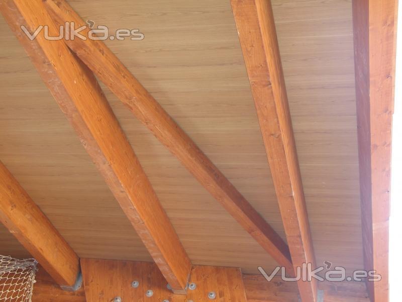 Sider panel s l for Tejados de madera prefabricados