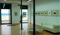 Espacio de la galer�a de arte