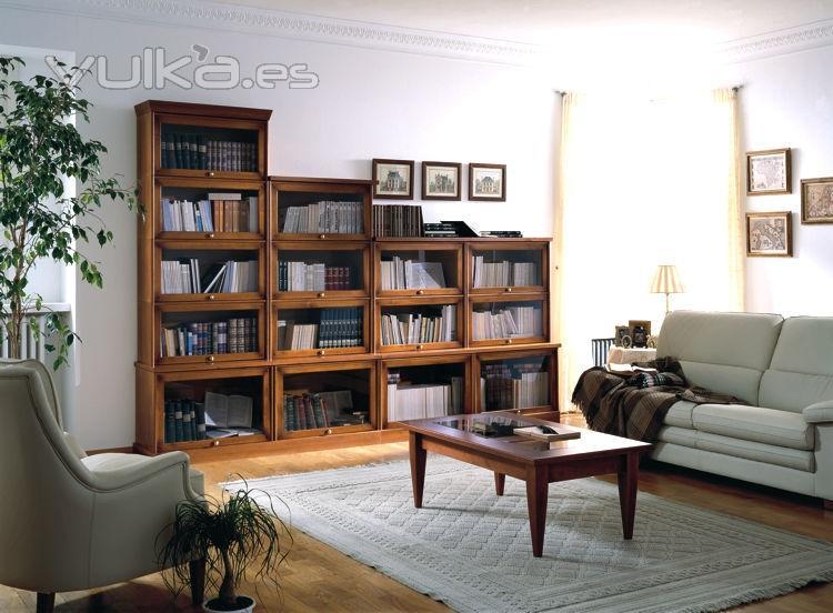 Foto estanterias de madera helsinky para la Estanterias para libros