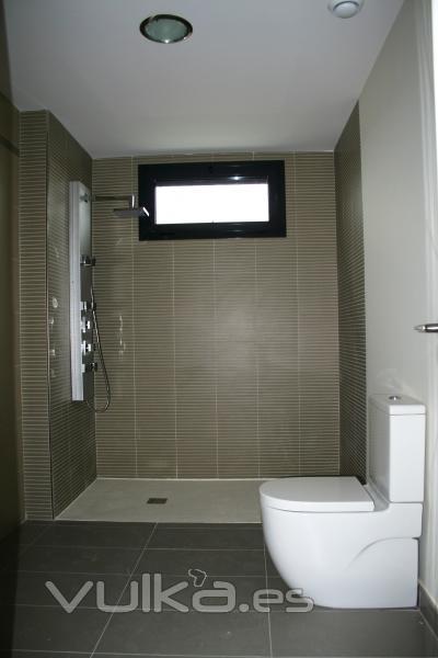 Azulejos Baño Saloni:baño sanitario Meridian compac y azulejos de Saloni