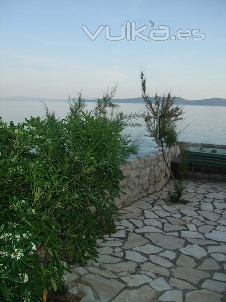 The beach House Croatia,Property Rental,Terraza Pral