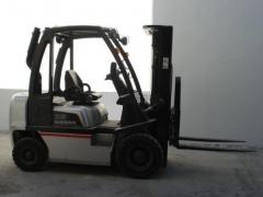 Carretilla de almacen diesel 1.600kl