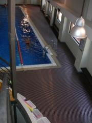 Pavimento drenante IPAGRID (playa piscina Club Dptvo. Reebok en ABC Serrano)