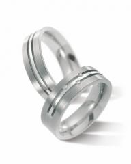 Alianzas de boda en titanio
