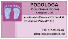 Pod�loga pilar gomis borr�s 615095282