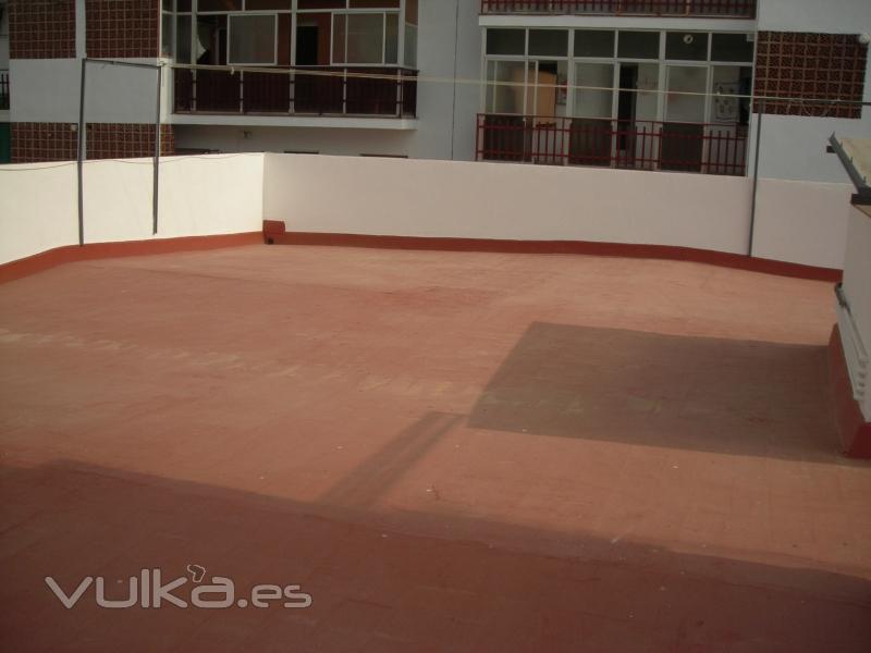 Foto impermeabilizacion de terrazas transitables for Productos para impermeabilizar terrazas transitables