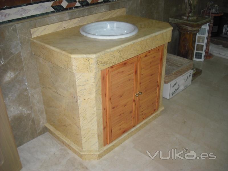 Mueble Baño Amarillo:Foto: Mueble de Baño de Amarillo Macael