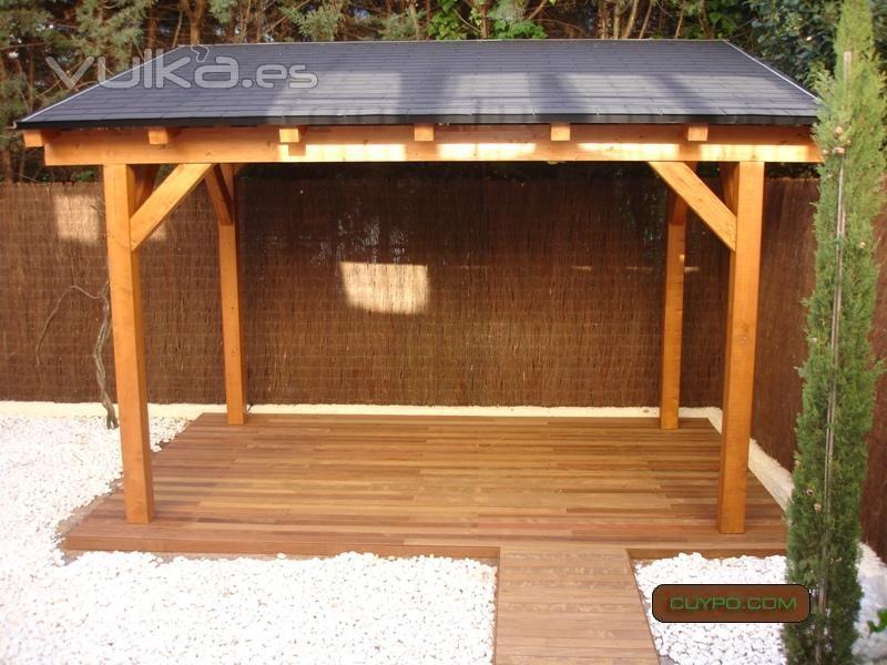 Cuypo cubiertas y porches de madera - Cubiertas para pergolas ...