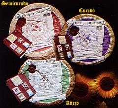 Queso artesano 100% producci�n limitada, elaborado con leche cruda y entera de oveja de raza Churra.
