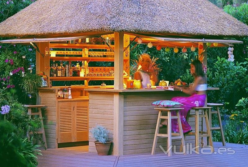Foto bar de jardin kiosko chiringuito for Barras de bar para jardin