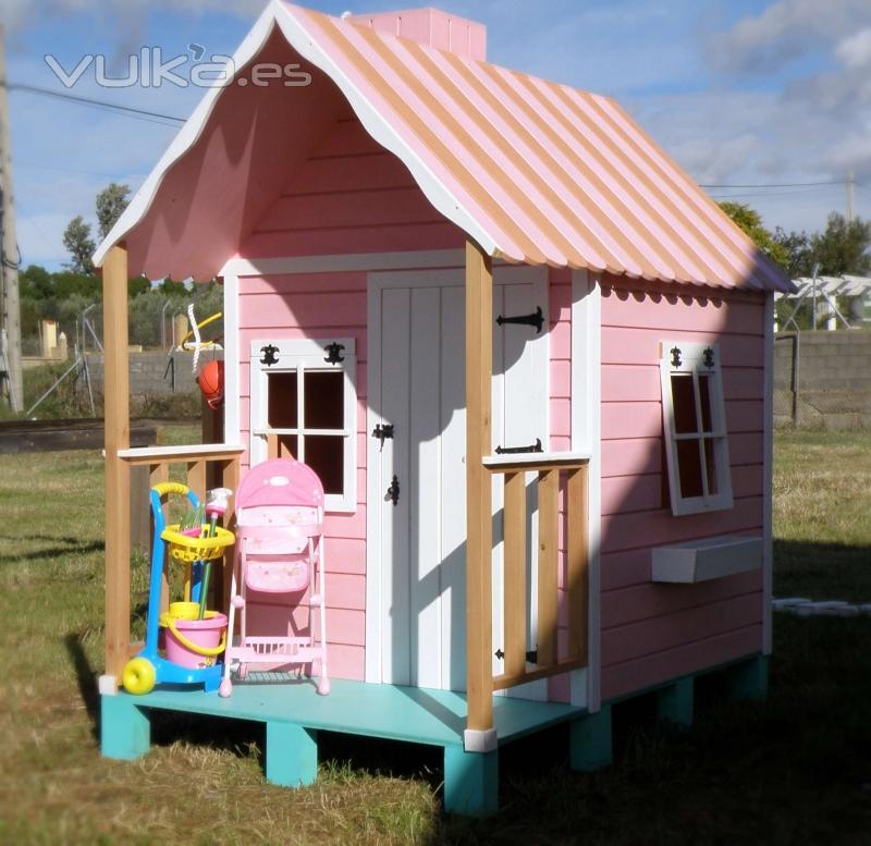 Foto casita infantil daisy for Casita infantil jardin