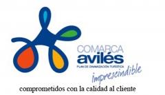 Certificado mancomunidad turistica comarca aviles de compromiso de calidad al cliente