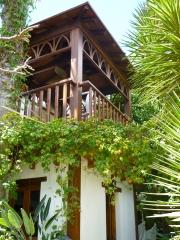 La caba�a de madera,pergolas almeria,murcia,malaga