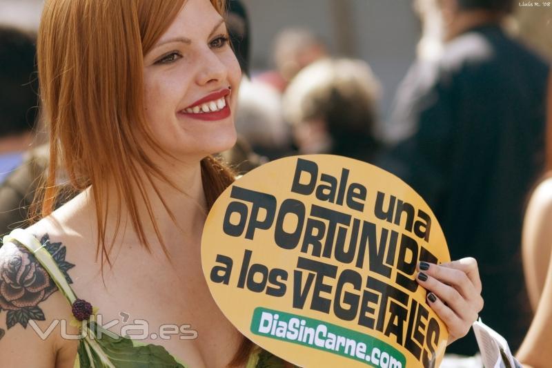 20 de marzo: Día Sin Carne, Barcelona