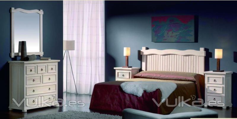Foto dormitorio rustico for Muebles lara cordoba