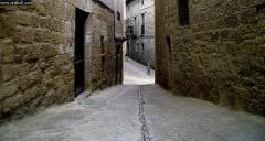 Calzadas romanas en la villa de Uncastillo