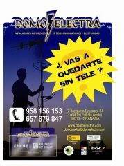 Stand publicitario, www.domoelectra.com, 958 156 153