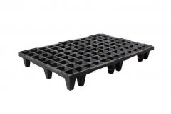 Palet pl�stico cpp 790 sl para 550 kg de carga / reja /
