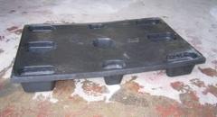 Palet pl�stico lp 1208 cd para 1500 kg de carga dinamica