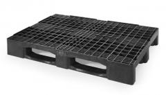 Modelo cpp888pe palet pl�stico formato compacto reja eur 1200x800x160 mm carga din�mica: 2.500 kg
