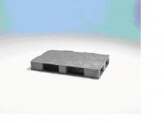 Palet universal: palet pl�stico formato compacto-liso / 800x1200x150 mm carga din�mica: 1.500 kg
