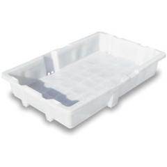 Caja de pl�stico para pescado. dimensiones: 80 x 52 x 14 cm. capacidad: 20 a 25 kg. peso: alrededor de 1,70 kg.  ...