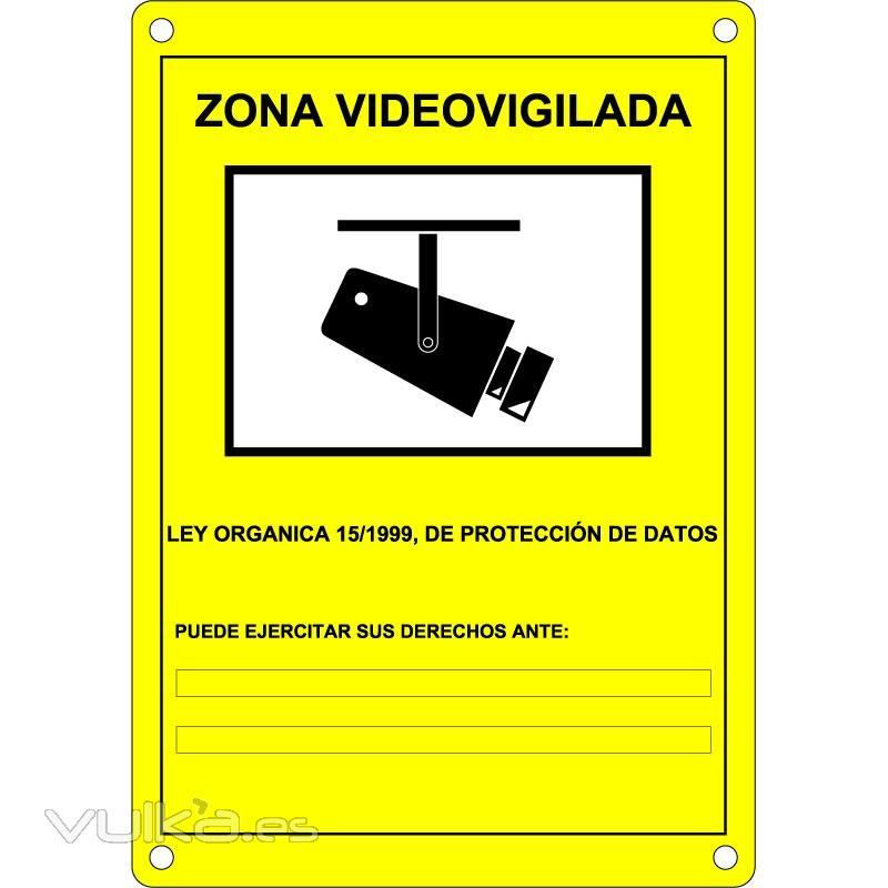 Cartel Camaras Vigilancia