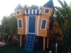 Castillo infantil exterior