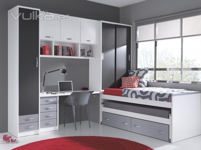 Muebles carlos pastor - Dormitorios blanco y negro ...