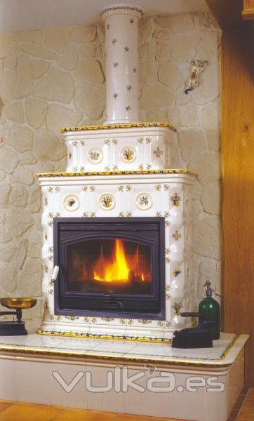 Chimeneas jover calefacci n for Chimeneas para calefaccion