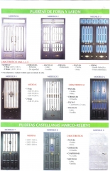 Carpinteria metalica,puertas de portal,rejas