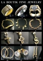 Coleccion amplia de joyas a precio muy atractivo
