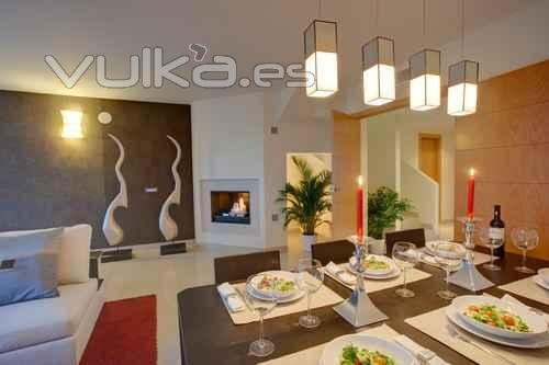 Foto decoraci n comedor for Empresas de decoracion de interiores
