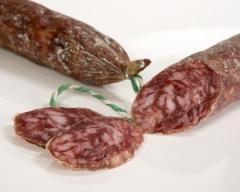 Www.sanjamon.com los mejores embutidos ibericos. el salchichón se elabora a partir un una selección de las partes ...