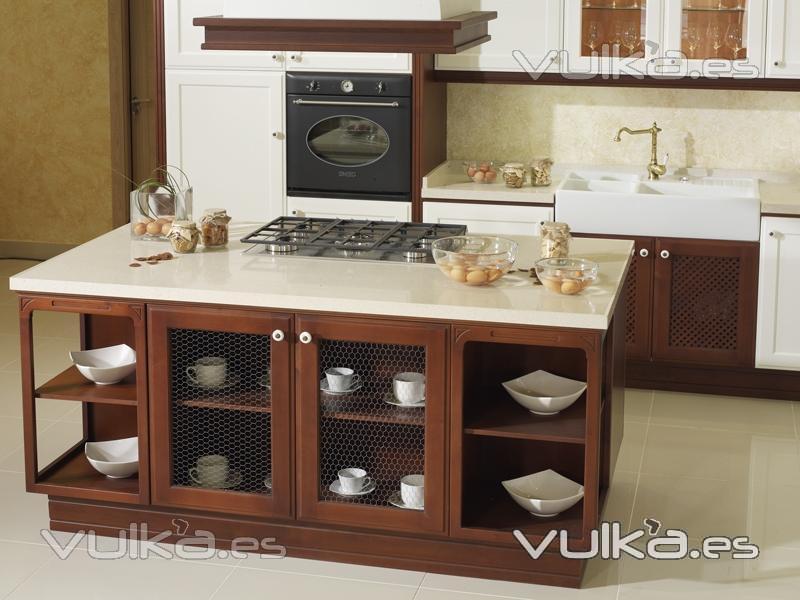 Foto muebles de cocina yelarsan victoria isla for Muebles de cocina modernos con isla