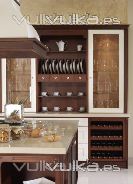 Foto muebles de cocina yelarsan victoria platero decorativo for Armario platero cocina