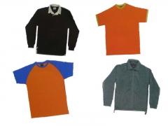 Camisetas, polos,sudaderas impresas o bordadas.