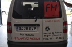 Rotulacion vehiculos fm pintores 6