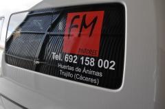 Rotulacion vehiculos fm pintores 3
