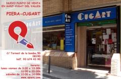 Nuevo punto de venta en Sant Cugat. Ahora también podrá encontrarnos en la antigua tienda Cugart (ahora Vicenç ...