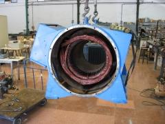 Motor electrico de 530 kw.