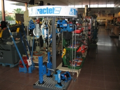 Gran expositor tractel group.