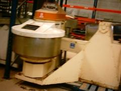 Amasadora espiral 125kg pprat basculante