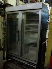 Armario congelacion 2 puertas cristal