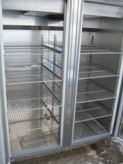 Armario congelacion 2 puertas cristal 140x80x210cm infrico